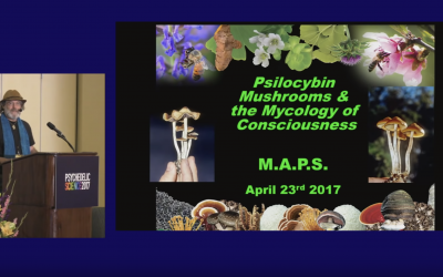 Paul Stamets speaking at the Psychedelic Science Conference (2017)
